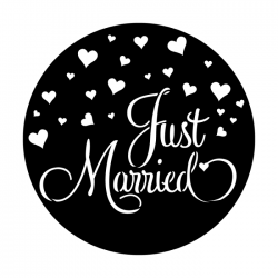 Apollo Metal Gobo 4281 Just Married