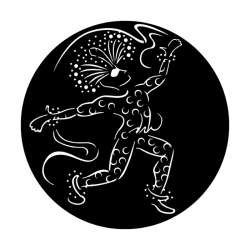 Apollo Metal Gobo 6070 Festive Dancer