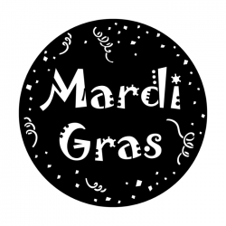 Apollo Metal Gobo 6073 Mardi Gras