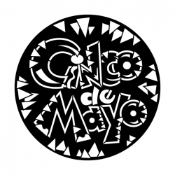 Apollo Metal Gobo 7016 Cinco De Mayo Chips