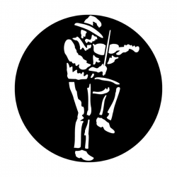 Apollo Metal Gobo 7021 West Fiddle Player