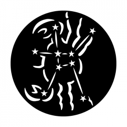 Apollo Metal Gobo 7027A Constellations Cancer The Crab