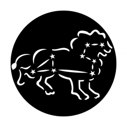 Apollo Metal Gobo 7028A Constellations Leo The Lion