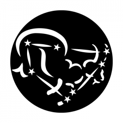 Apollo Metal Gobo 7033A Constellations Capricornicus The Goat