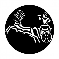 Apollo Metal Gobo 7044 Egypt Chariot