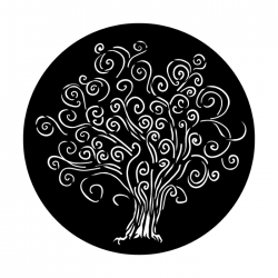 Apollo Metal Gobo 9006 Curly Tree