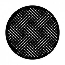 Apollo Metal Gobo 9017 Manhole