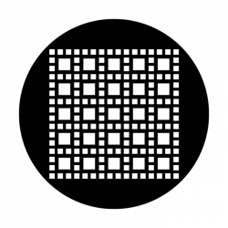 Apollo Metal Gobo DS 8025 M. Nelson - Square Square Grid