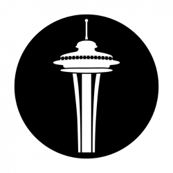 Apollo Metal Gobo DS 8036 A. Thompson - Simple Space Needle