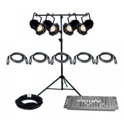 SLS ADJ PAR829 - 4 Par Light Kit