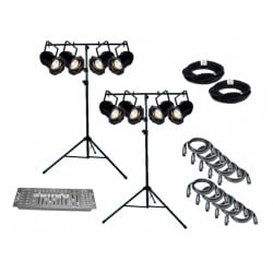 SLS ADJ PAR829 - 8 Par Light Kit