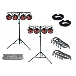 SLS Chauvet DJ SLIMPART12USB - 8 Par Light Kit