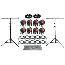 SLS Elation SIX001 - 8 Par Light Kit