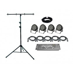 SLS StagePar 120HR - 4 Par Light Kit