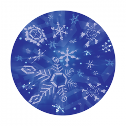 Apollo PrintScenic Glass Gobo C20129 Soft Snowfall