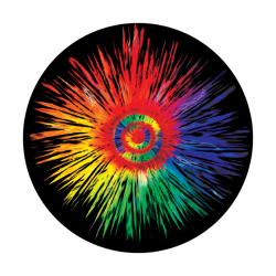 Apollo PrintScenic Glass Gobo CS0011 Tie Dye Eye