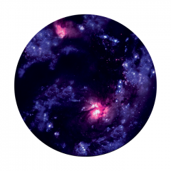 Apollo PrintScenic Glass Gobo CS0104 Colliding Galaxies