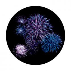 Apollo PrintScenic Glass Gobo CS0154 Firework Burst