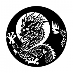 Apollo PrintScenic Glass Gobo ME1223 Asian Dragon