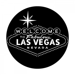 Apollo PrintScenic Glass Gobo ME1234 Welcome To Vegas