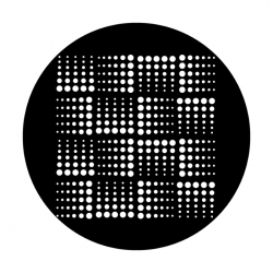 Apollo PrintScenic Glass Gobo ME2268 Geometric Dots