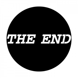 Apollo PrintScenic Glass Gobo ME2485 The End