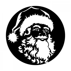 Apollo PrintScenic Glass Gobo ME2509 Santa's Face