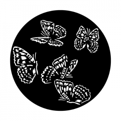 Apollo PrintScenic Glass Gobo ME4194 Butterfly Flutters