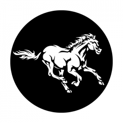 Apollo PrintScenic Glass Gobo ME7058 Wild Horse