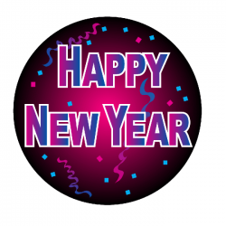 Apollo PrintScenic Glass Gobo CS3411 Happy New Year 2