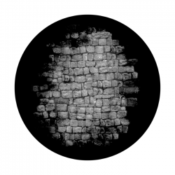 Apollo SuperRes Glass Gobo 0014 Dungeon Wall