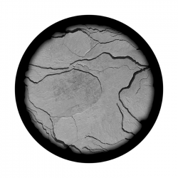 Apollo SuperRes Glass Gobo 0053 Cracked Ground