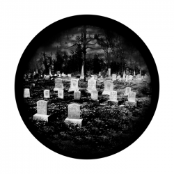 Apollo SuperRes Glass Gobo 0057 Graveyard 2
