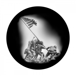 Apollo SuperRes Glass Gobo 0061 Iwo Jima
