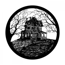 Apollo SuperRes Glass Gobo 0069 Haunted House - Jesse Guess