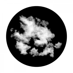 Apollo SuperRes Glass Gobo 0073 Cloud 4