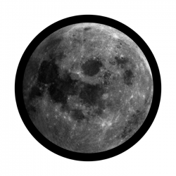 Apollo SuperRes Glass Gobo 0097 Full Moon