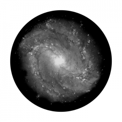 Apollo SuperRes Glass Gobo 0101 Spiral Galaxy