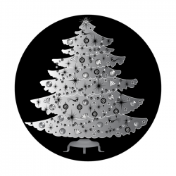 Apollo SuperRes Glass Gobo 0103 Christmas Tree