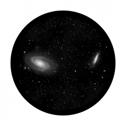 Apollo SuperRes Glass Gobo 0105 Dual Galaxies