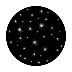 Apollo SuperRes Glass Gobo 0109 Star Twinkling