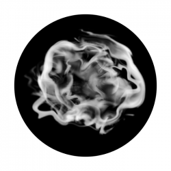 Apollo SuperRes Glass Gobo 0175 Hazy Smoke