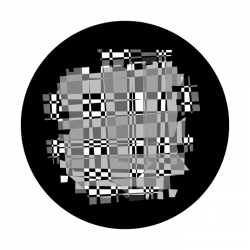 Apollo SuperRes Glass Gobo 0198 Psychedelic Checkerboard