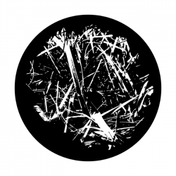 Apollo SuperRes Glass Gobo 0215 Abstract Grass