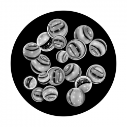 Apollo SuperRes Glass Gobo 1021 Agate Marbles
