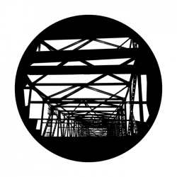 Apollo SuperRes Glass Gobo 1113 Bridge Abstract