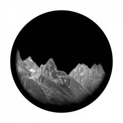 Apollo SuperRes Glass Gobo 1120 Mountains