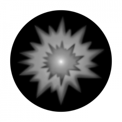 Apollo SuperRes Glass Gobo 2102 Aperture Starburst