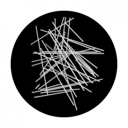 Apollo SuperRes Glass Gobo 2107 Pick-up Sticks