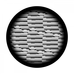 Apollo SuperRes Glass Gobo 2114 Egg Weave